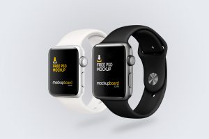 Free Apple Watch Mockup created in Photoshop
